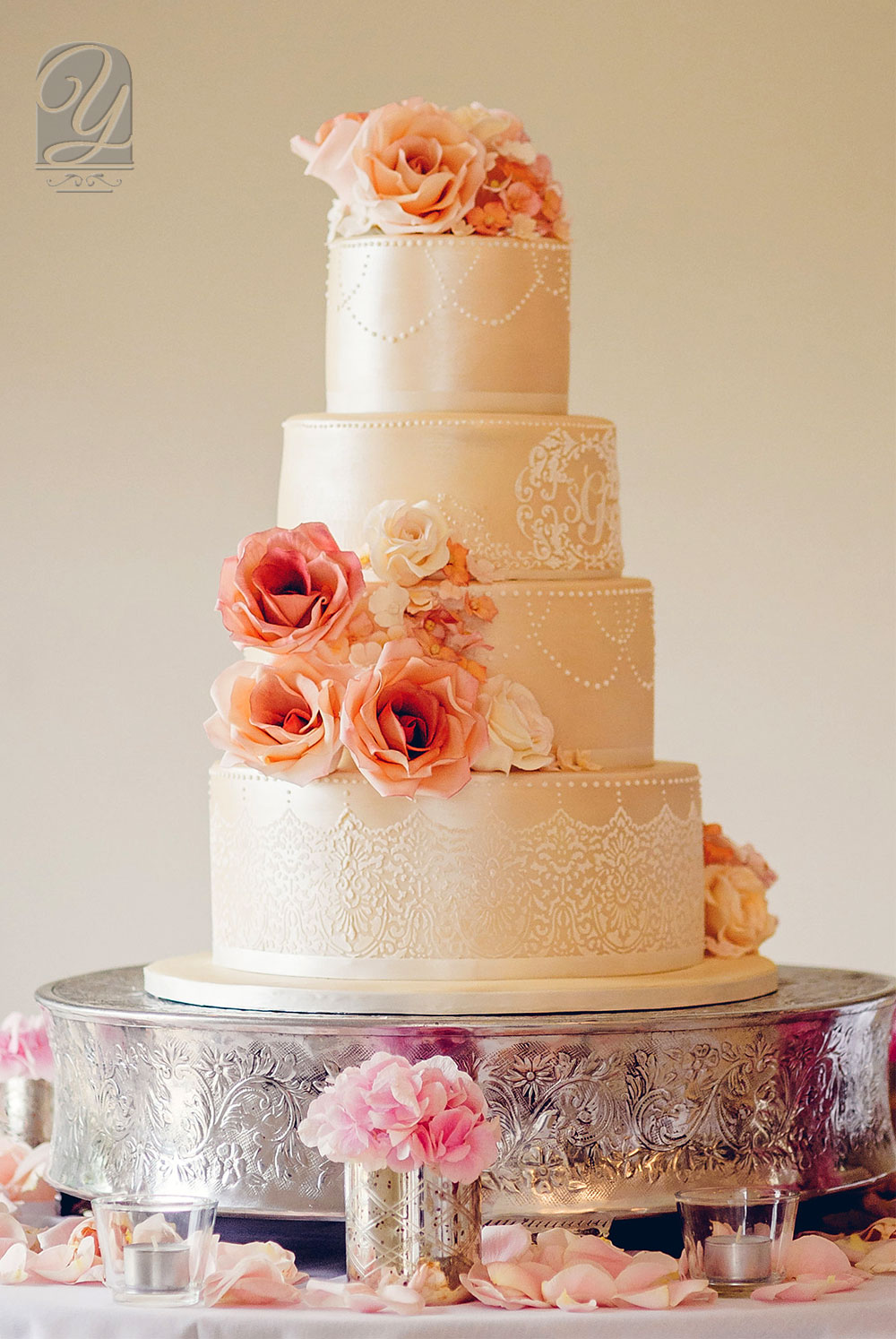 The Beautiful Sophie is a bespoke, premium wedding cake created by Unique Cakes by Yevnig